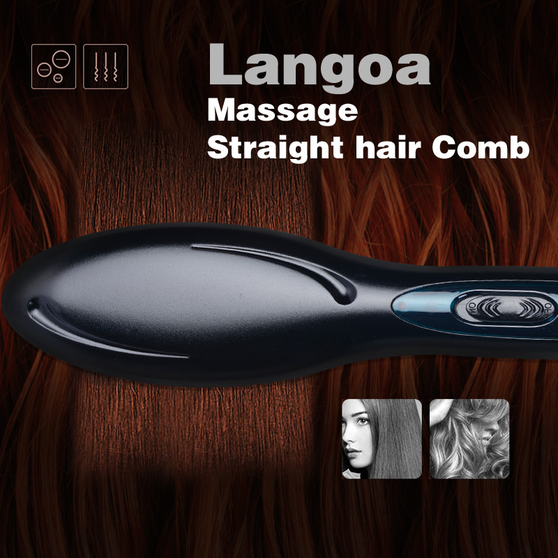 2019 Professional Electric Hair Straightener Comb H