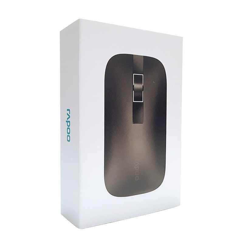 新 Rapoo 間 M550 マルチモード無線マウススイッチ Bluetooth 3.0/4.0 と 2.4 グラム 3 つのデバイスの接続