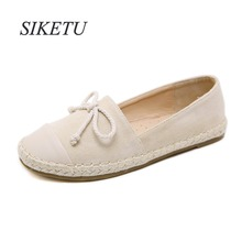 SIKETU Fashion Style Women s Low-Heels shoes Ladies Concise Round Toe Shoes  Woman Ethnic Pumps f7758eeddc31
