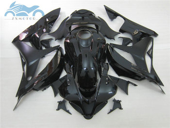Injection mold fairings for CBR 600 RR 2007 2008 cbr600rr 07 08 ABS plastic fairing parts CBR600 F5 full glossy black bodyworks