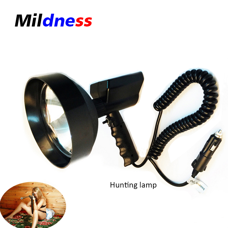 12v 100w led portable spotlights hid 9 xenon handheld camping hunting fishing searching super. Black Bedroom Furniture Sets. Home Design Ideas