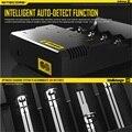 Nitecore I4 Универсальное зарядное устройство электронной сигареты электронные cigaretters зарядное устройство для 18650 18500 26650 I2 D2 D4