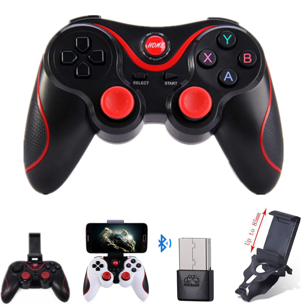 T3 Smart Phone Game Controller Wireless Joystick Bluetooth 3.0 Android Gamepad Gaming Remote Control for phone PC Tablet пуховик мужской geox цвет темно зеленый m8225bt2449f3179 размер 56