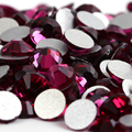 SS16 Fuchsia color 1440 unids de Hotfix del rhinestone no 3.8mm 16ss crystal Nail Art Piedras flatback