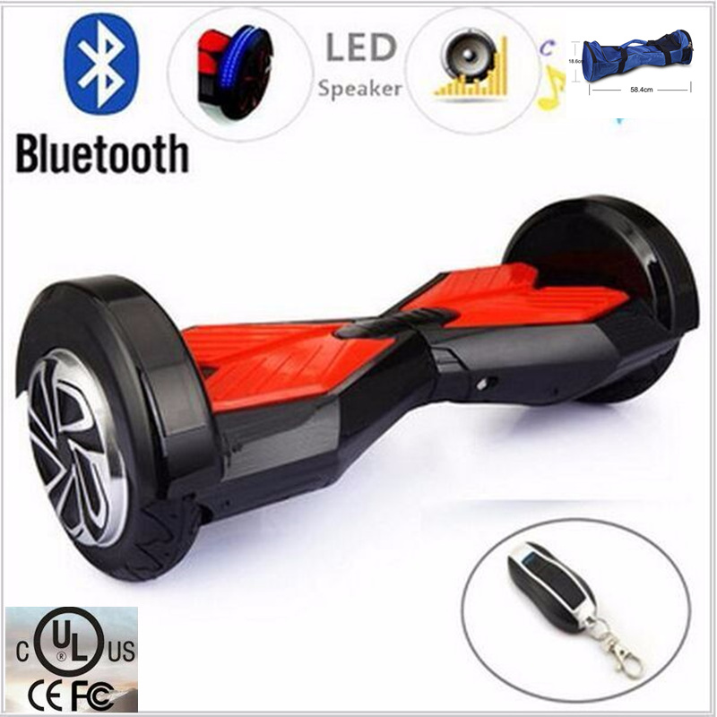 8 inch two wheel hoverboard Electric Self Balance Scooter airboard smart oxboard unicycle standing skateboard hover board
