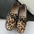 2017 New Fashion Women Flat Shoes Genuine Horsehair shoes Woman Shoes Handmade Flats Moccasins Women Casual Shoes Lady Loafers