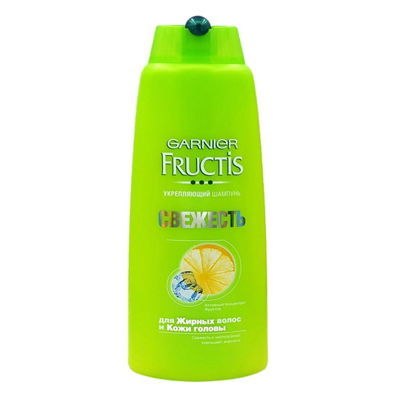 Garnier Lemon Shampoo 400ml keratin treatment purifying shampoo anti dandruff off oil control hair care