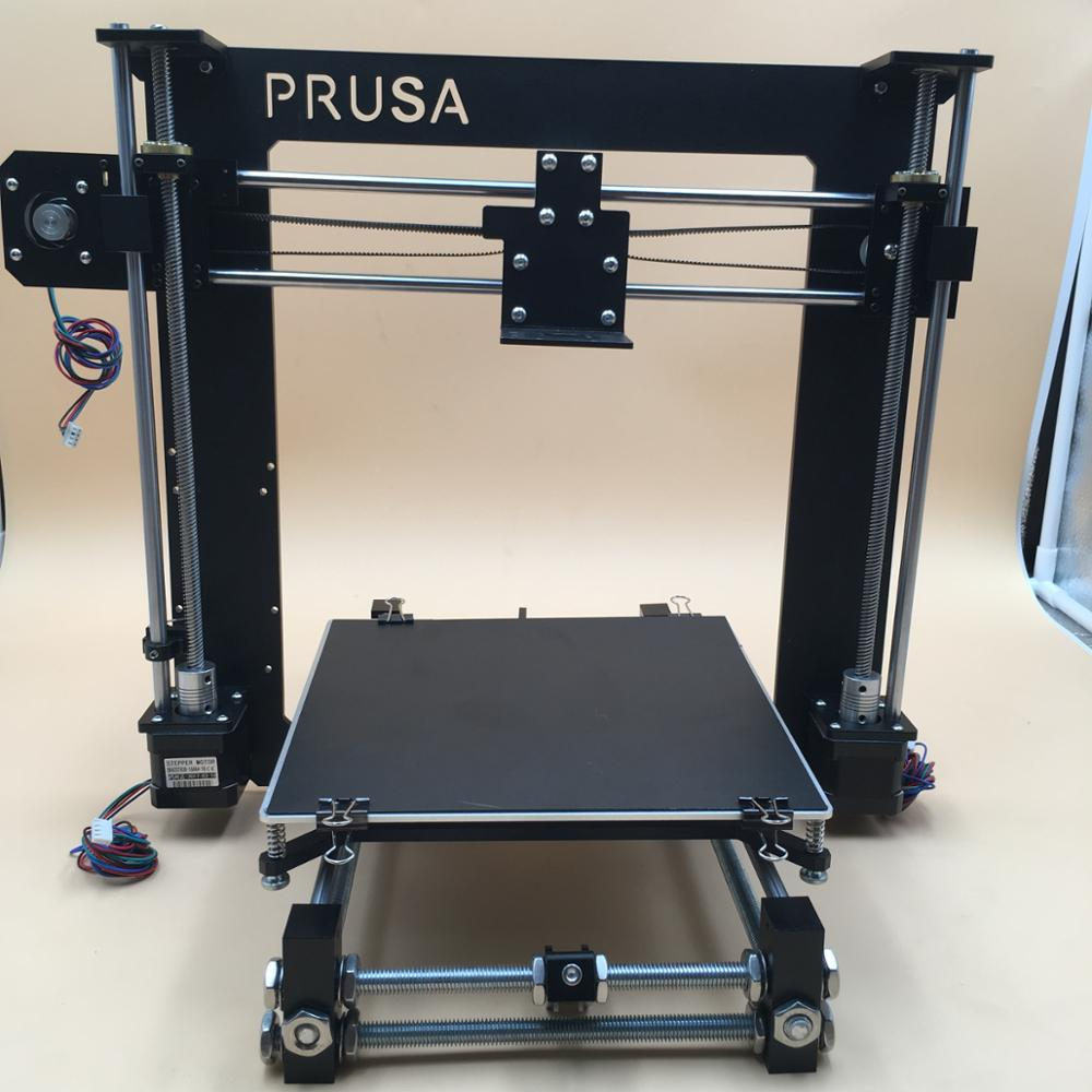 Reprap Prusa i3 aluminum mechanical fullkit Black with 5 motors, heated bed 1 43 ankai bus sightseeing tour of london bigbus big bus diecast model bus open top