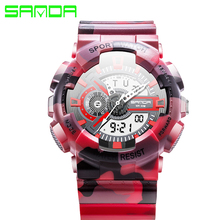 New Sports Chronograph Men's Wrist Digital Watches and Quartz Boys Military Diving Watchband Top Luxury Brand Male Clock