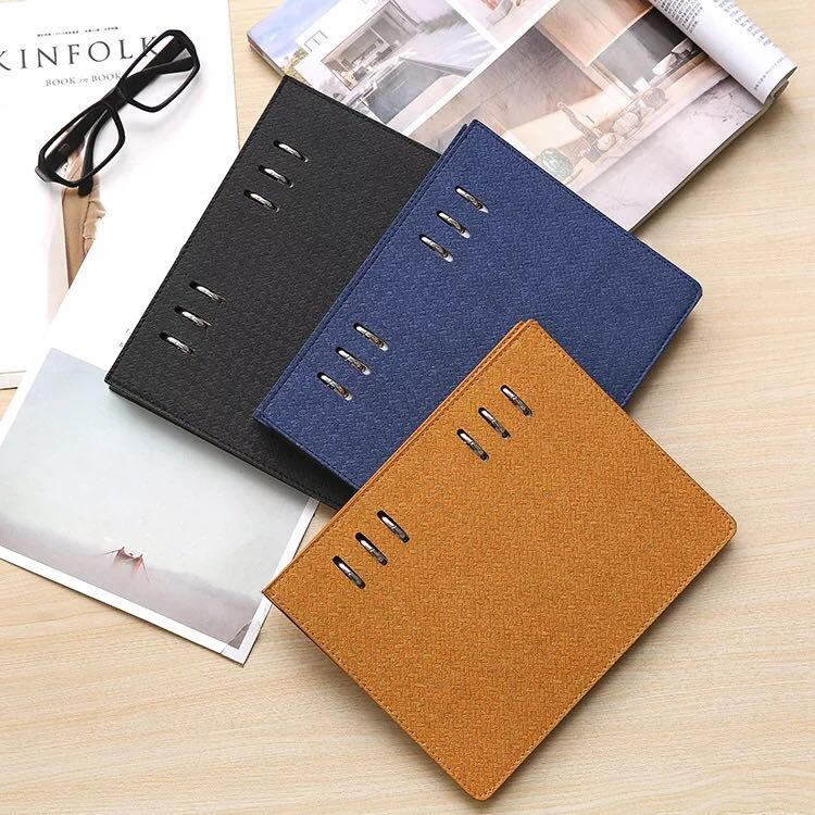 2018 factory supplied notebook 200 pages hard covered books business