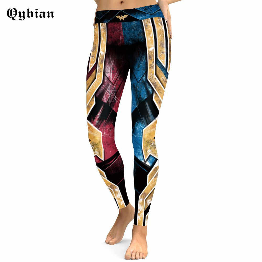4c6fd47856d16e ... Fashion Women Leggings Batman Printing Fitness Legging Sexy Silm Legins High  Waist Stretch Trouser Breathable Female ...