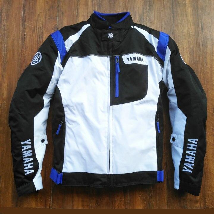 Livraison gratuite 2019 Moto Bleu Veste D'équitation pour YAMAHA M1 R1 R6 Sport Motocross Racing Vêtements