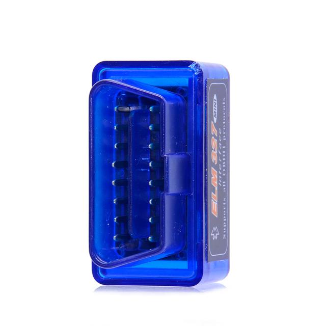 10pcs/lot 2019 Bluetooth ELM327 Scanner V2.1 ELM327 OBD2 Code Reader Support OBDII Protocols ELM327 OBD Car Diagnostic Scan Tool