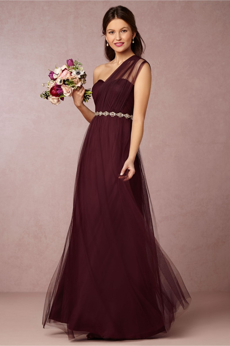 Popular Bridesmaid Dress Burgundy-Buy Cheap Bridesmaid Dress ...