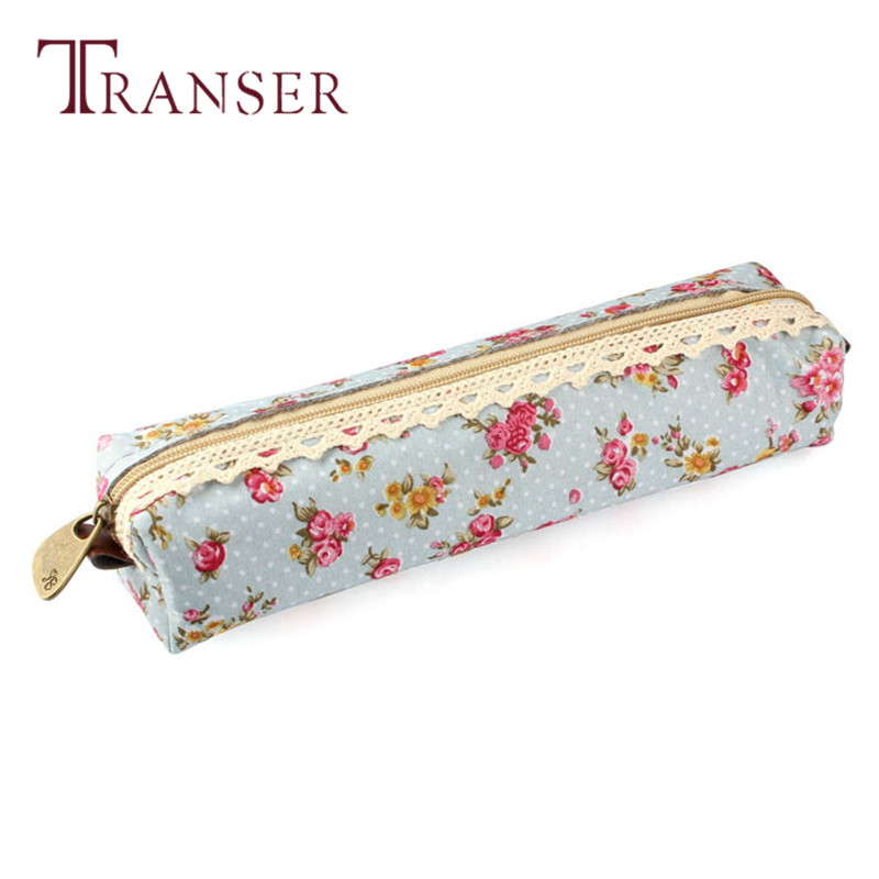 TRANSER New Fashion Cute Slim Mini Cosmetic Bag Flower Print Case Makeup Pouch Purse Cosmetic Cases Coin Bag High Quality Aug17
