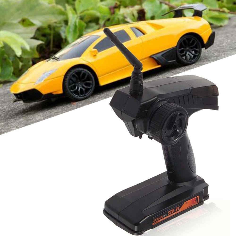 FS GT2 2CH 2.4G Radio Remote Control Transmitter and Receiver For RC Car Boat niorfnio portable 0 6w fm transmitter mp3 broadcast radio transmitter for car meeting tour guide y4409b