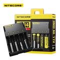 Оригинал Nitecore I4 Digicharger Универсальный Переносной Зарядное Устройство для AA AAA Li ion 18650 Батарей Зарядки Высокое Качество
