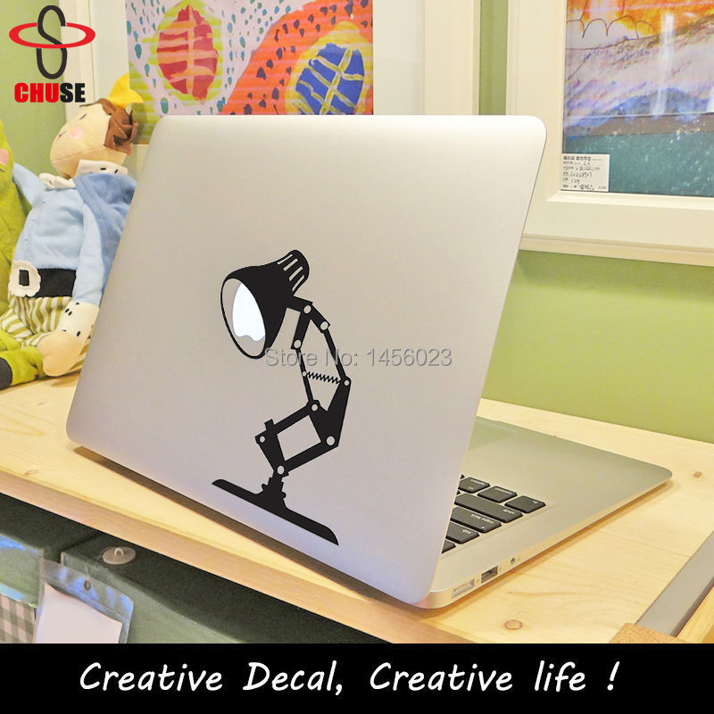 Pixar lamp decal for MacBook Air Pro Retina 1113 15 laptop sticker decal creation cover decal Adesivo pegatina para notebook