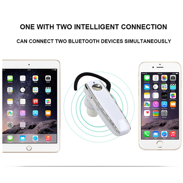 OASION wireless handsfree Bluetooth headset noise-canceling Business bluetooth earphone wireless headphones for a mobile phone