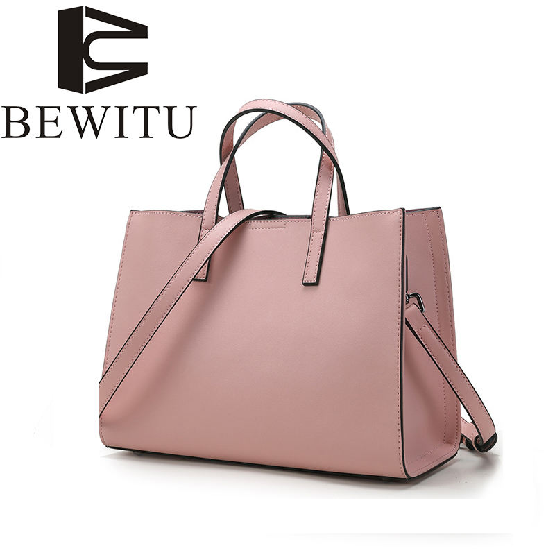 European and American Style Simple Women New Genuine Leather Handbag High Quality Casual Shoulder Casual Female Messenger Bag