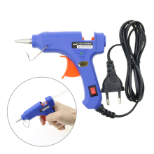 20W Electric Hot Melt Glue Gun DIY decoration hot glue gun Adhesive Dent Repair Tool with 10pcs Glue pistola de cola quente