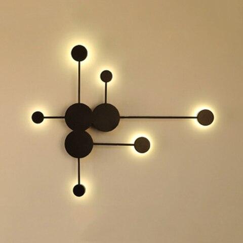 sala estar quarto lampada de cabeceira criativo