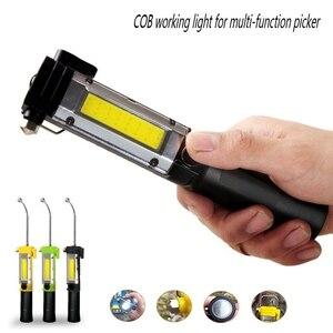 Image 1 - Esterno Batteria Ricaricabile Usb Luce Portatile Con Il Magnete di Campeggio della Torcia Elettrica Garage Strumenti di Lavoro Della Lampada