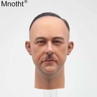 Mnotht 1:6 Male Soldier Heinrich Head Carvings Heinrich Himmler Model Toy Accessory for 12in Action Figure Collection Gift Ma
