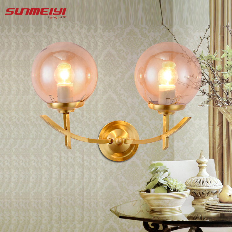 American Modern Style Wall Lamp Bedside Lamps Wall Light for Home Decor 110V/220V E14 Holder Lighting modern lamp trophy wall lamp wall lamp bed lighting bedside wall lamp