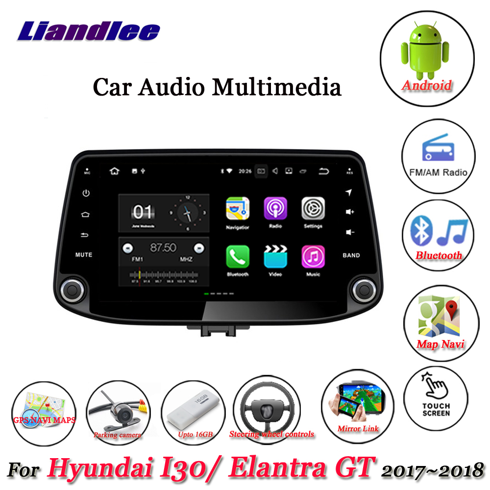 For Hyundai I30 Elantra GT 2017~2018-1