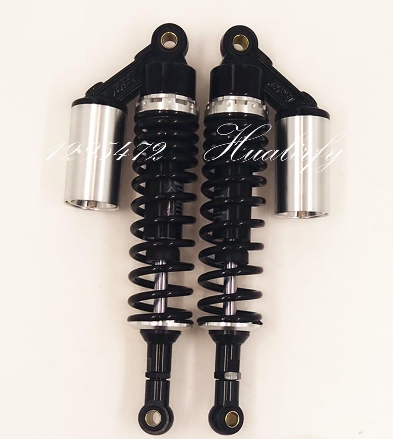 ROWEQPP 7mm 360mm Motorcycle Rear Shocks Absorbers Suspension for Honda//Yamaha//Suzuki//Kawasaki