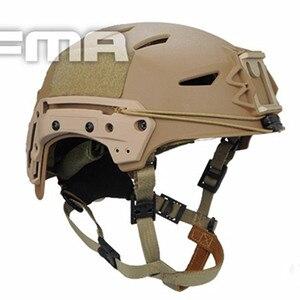 Image 5 - Casques de sport militaire, casque tactique AirsoftSports, Protection de Combat, noir airsoftball, nouveau TB FMA bullet EXFLL Lite, livraison gratuite