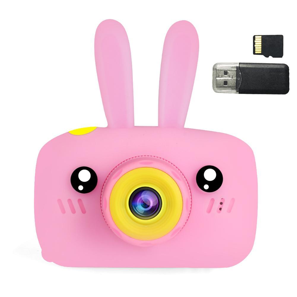32G Mini caméra numérique 800 W dessin animé mignon lapin caméra jouets enfants cadeau d'anniversaire 1080 P bambin jouets caméra pour enfants - 3