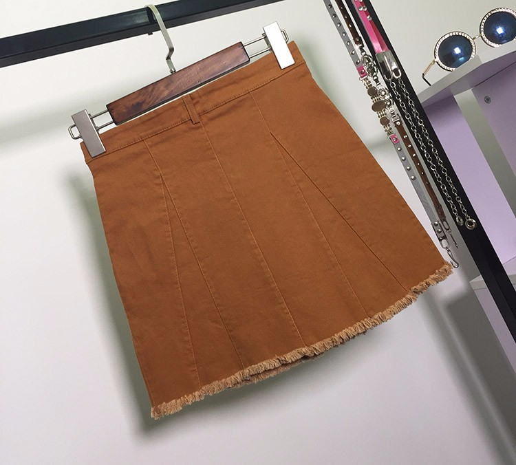 HTB1Wyp3OVXXXXXRXpXXq6xXFXXX6 - American Apparel button Denim Skirt JKP265