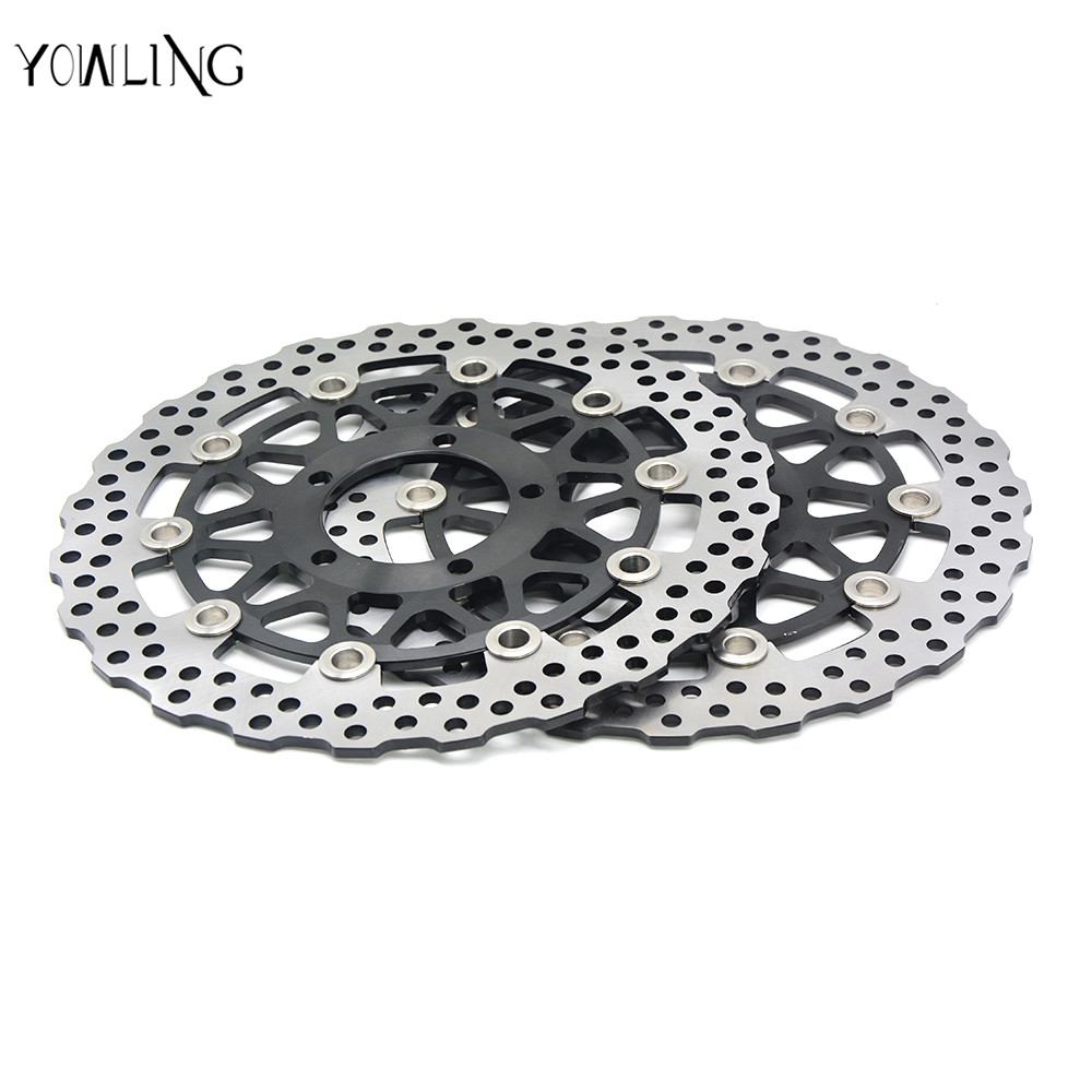 motorcycle accessories Front Brake Disc Rotor For KAWASAKI ZG 1400 Concours 14 B8F-B9F, DAF ZG1400 2008 2009 2010 2011 new original backlight keyboard for lenovo thinkpad yoga x260 laptop fru 00ur665