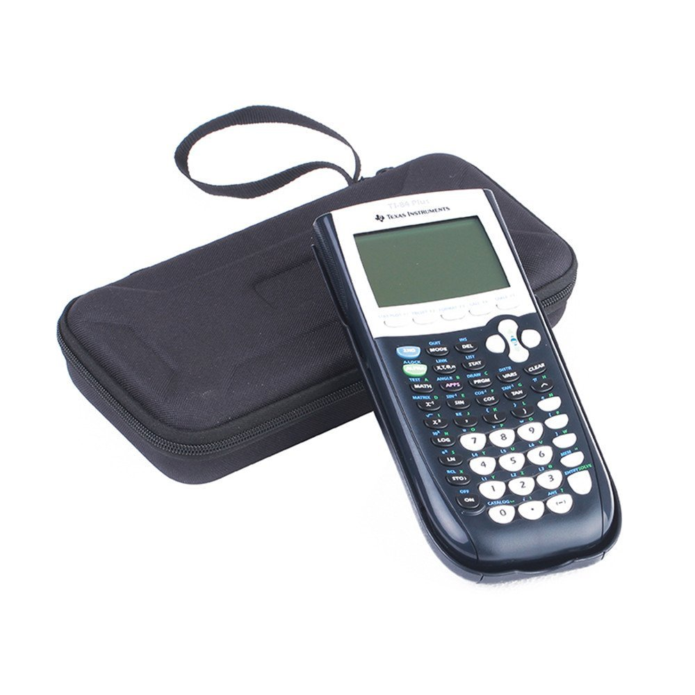 Case For Graphing Calculator Texas Instruments TI-84/Plus 89/83 CE Portable  Hard Carrying Case Travel Bag Protective Pouch Box