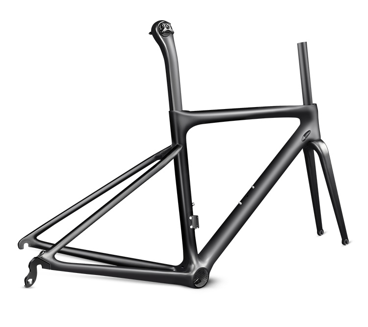 2019 Style Oem Logo Full Carbon Bike Frameset  Supper Light T1000 Frame Made In Taiwan Free Shipping(China)