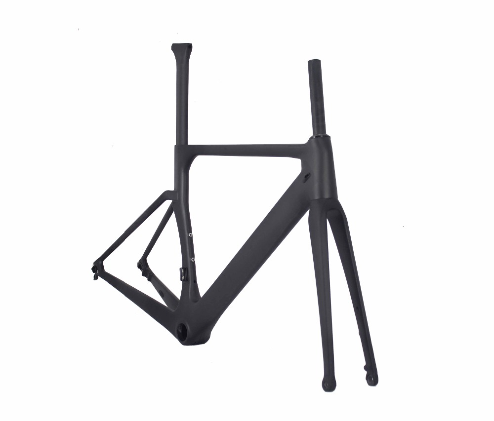 2019 Disc Road Bike Carbon 142mmX12mm 100mmX12mm Thru Axle Road Frame Disc Brake