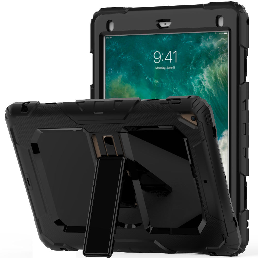For Apple Pad Mini 123 Case Heavy Duty Shockproof Armor Cover for Apple Pad Pro 9.7 2017 2018 Case for Pad Pro 10.5 Coque
