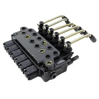 6 Spool Hydraulic Directional Control Valve 15Gpm, Double Acting Cylinder Spool