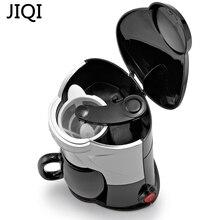 JIQI Coffee Maker Drip Type Machine Semi-automatic Cafe Americano Espresso Cafe Household Cappuccino Latte Maker 220V 300W