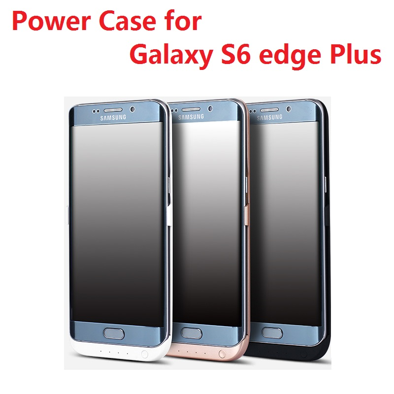 Free shipping 5800mAh Rechargeable External Backup Battery Charger Power Case for Samsung Galaxy S6 edge plus