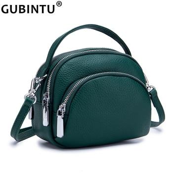 c5201b714825 Женская сумка-мессенджер из натуральной кожи, женские сумки на плечо,  брендовая Маленькая женская