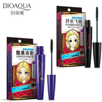 Mascara long curly long-lasting waterproofing does not blooming thickening lock color cosmetics