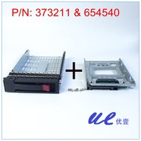 654540 001+373211 001 for HP 2.5 SSD TO 3.5 SATA Converter Hard Drive Tray Caddy rack bracket