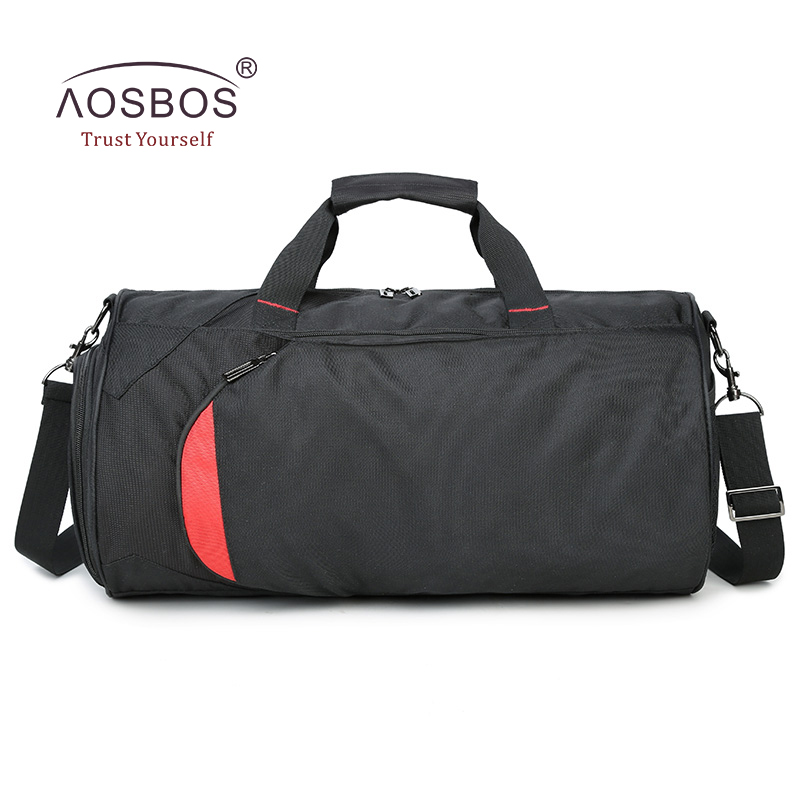 Aosbos Nylon Waterproof Gym Bag Men Women Sports For Fitness Durable Multifunction Basketball Handbag Outdoor Training Bags In From