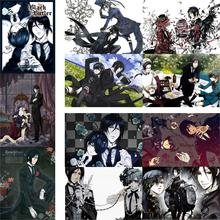 Black Butler posters Japanese anime wall prints home fdecoration glossy paper