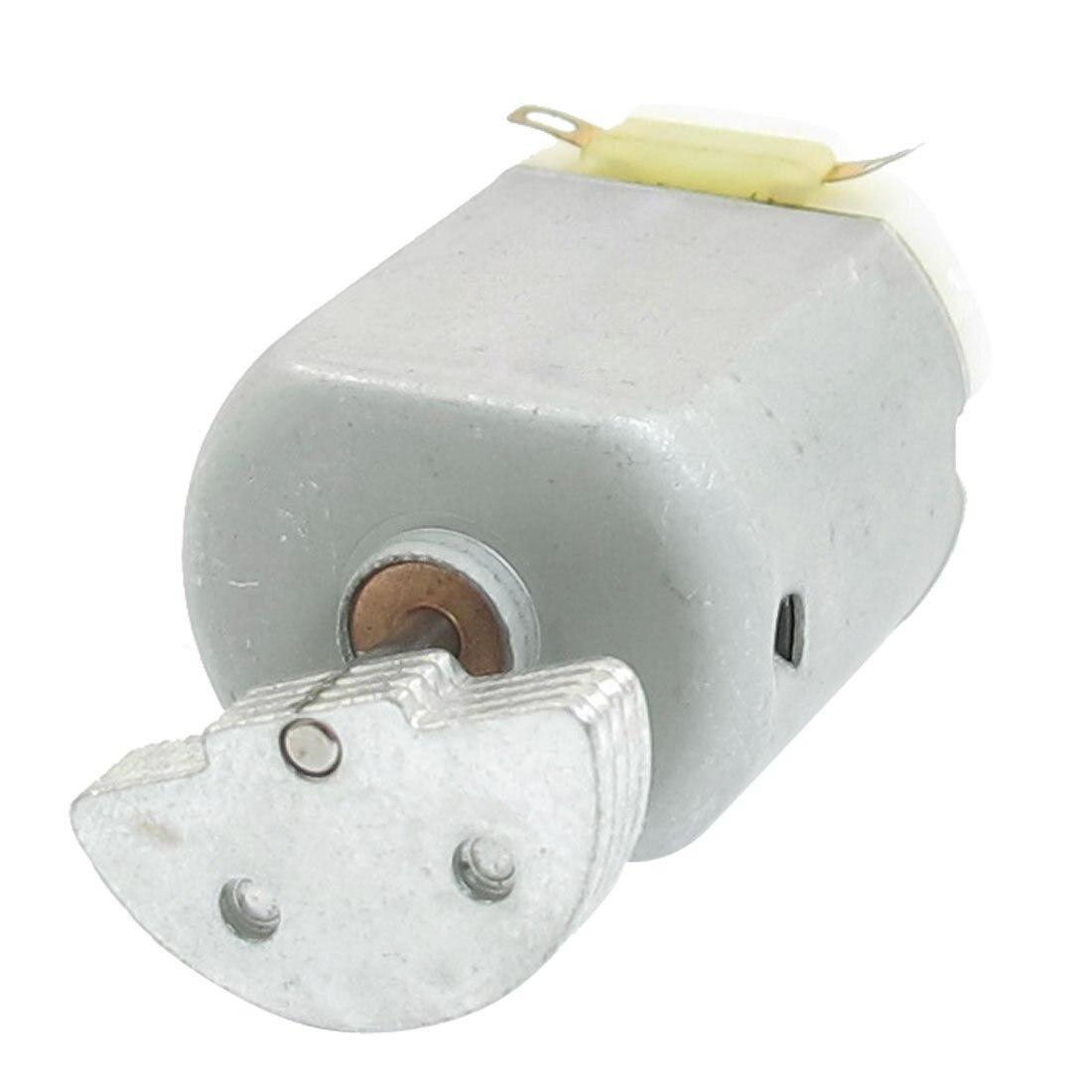 1.1inch Dia Mini Vibration Vibrating Electric Motor DC 12-24V 8000RPM Gray TS