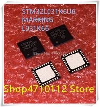NEW 10PCS LOT STM32L031K6U6 STM32L031 MARKING L031K66 QFN 32 IC