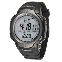 Rubber Waterproof Mens Relojes LED Digital Stopwatch Quartz Relogio Sports Wrist Watches